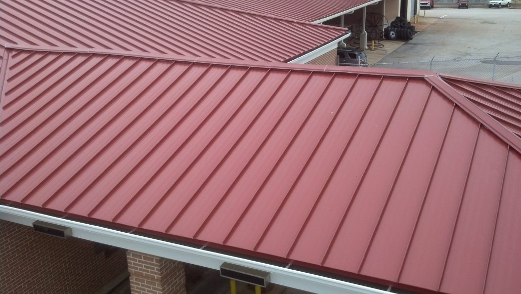 Commercial Metal Roofing Jmrs