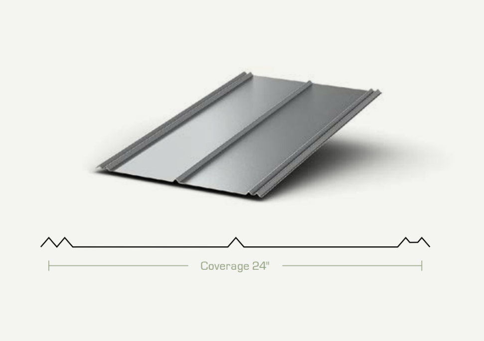 Metal Roofing - 5V Panels