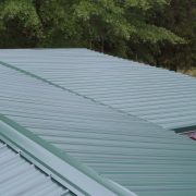 Green Metal Roof - Monticello, GA