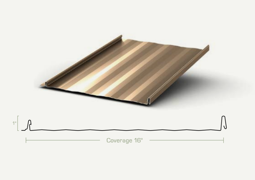 Metal Roofing - Standing Seam Panels