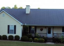 Warner Robins, GA Blue Metal Roof