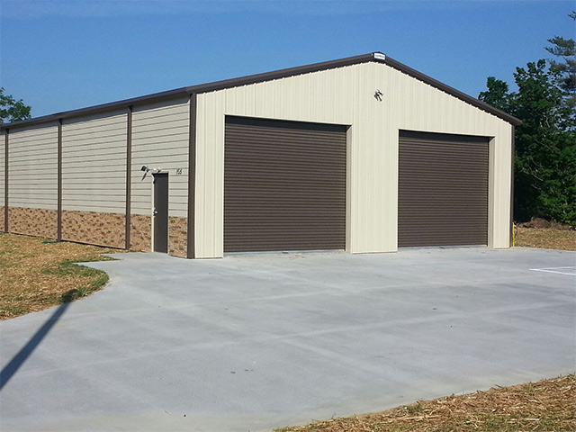 Steel Buildings - Jackson Metal Roofing